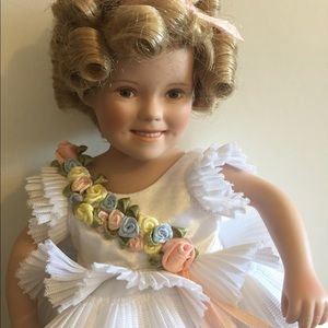 Other - Shirley Temple porcelain doll.
